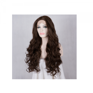 Curly hair lady wig